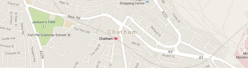 chatham map