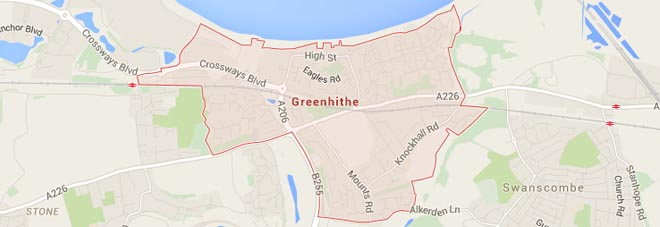 Greenhithe Map
