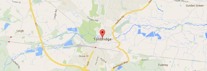 Tonbridge Map