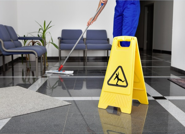 Office Hardfloor Cleaning Image